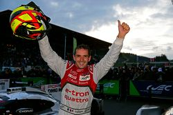 Winnaar: Benoit Tréluyer, Audi Sport Team Joest