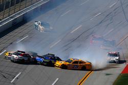 Zware crash aan de voorzijde