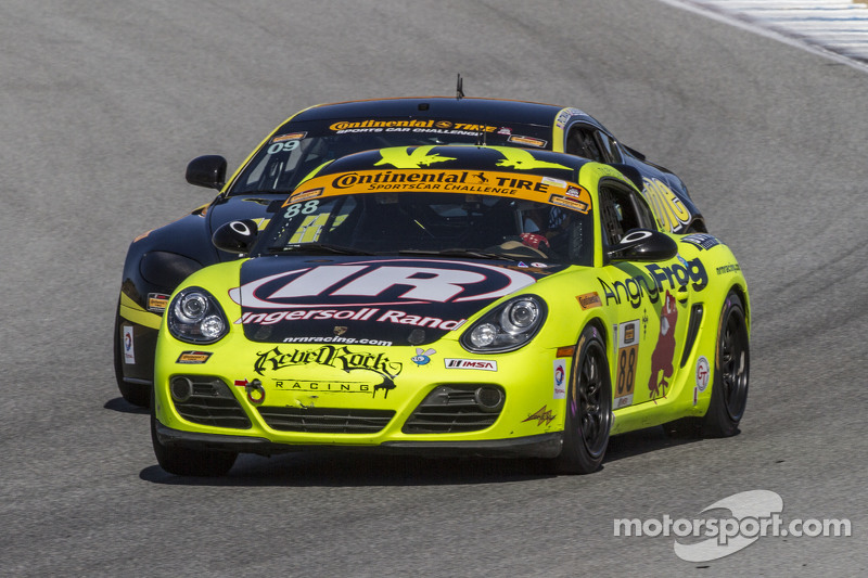 #88 Rebel Rock Racing, Porsche Cayman: Nate Norenberg, Tyler Stone