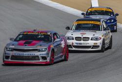 #6 Stevenson Motorsports, Chevrolet Comaro Z/28.R: Andrew Davis, Robin Liddell