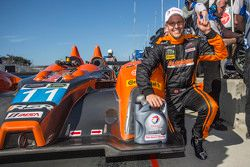 PC-Pole-Sitter: #11 RSR Racing, Oreca FLM09 Chevrolet: Chris Cumming, Bruno Junqueira