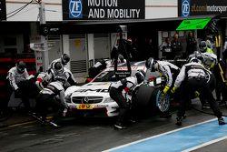 Пит-стоп Пола ди Ресты, HWA AG Mercedes-AMG C63 DTM