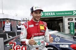 Ganador de la Pole 2, Mike Rockenfeller, Audi Sport Team Phoenix Audi RS 5 DTM