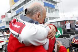 Dr. Wolfgang Ullrich,, Audi's Head of Sport y Mike Rockenfeller, Audi Sport Team Phoenix Audi RS 5 D