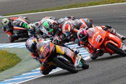 Karel Hanika, Red Bull KTM Ajo devant un groupe