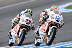 Matteo Ferrari, San Carlo Team Italia and Stefano Manzi, San Carlo Team Italia