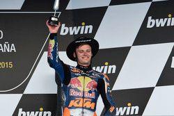 Brad Binder, Red Bull KTM Ajo sur le podium