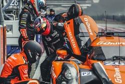 Ligier JS P2 Nissan команды G-Drive Racing: gbn стоп, Роман Русинов и Жюльен Каналь
