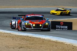 #45 Flying Lizard Motorsports, Audi R8 LMS: Guy Cosmo