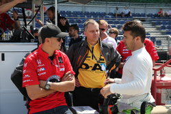 Graham Rahal and Oriol Servia, Rahal Letterman Lanigan Racing