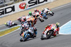 Andrea Iannone, Ducati Team et Scott Redding, Marc VDS Racing Honda