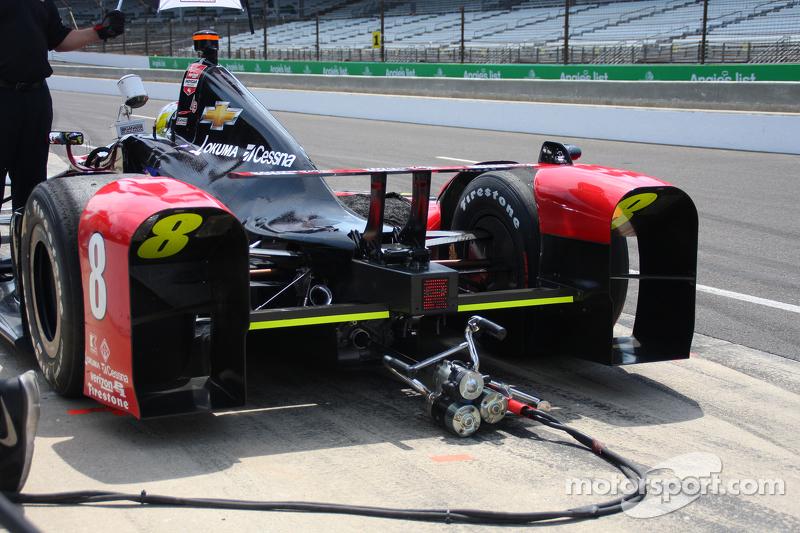 Starter motor detail