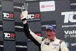Podium de la course 2 : le deuxième, Michel Nykjaer SEAT Leon Target Competition