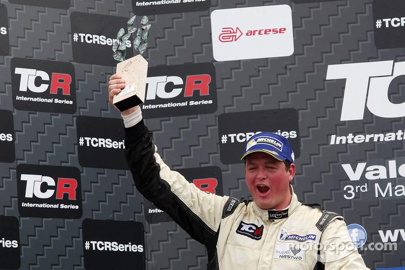Podium 2. Rennen: 2. Michel Nykjaer, SEAT Leon, Target Competition