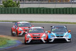 Pepe Oriola, SEAT Leon Racer, Team Craft-Bamboo LUKOIL et Michael Nykjaer, SEAT Leon Racer, Target Competition