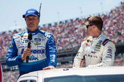 Michael Waltrip and Carl Edwards, Joe Gibbs Racing Toyota