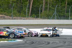 Lucas Auer, ART Grand Prix Mercedes-AMG C63 DTM y Martin Tomczyk, BMW Team Schnitzer BMW M4 DTM