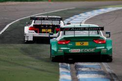 Marco Wittmann, BMW Team RMG BMW M4 DTM, Edoardo Mortara, Audi Sport Team Abt Audi RS 5 DTM