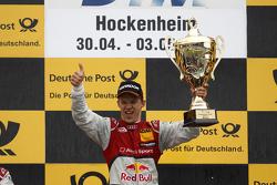 Podium, Mattias Ekström, Audi Sport Team Abt Sportsline, Audi A5 DTM