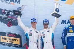 GTLM winnaars: #24 BMW Team RLL BMW Z4 GTE: John Edwards, Lucas Luhr
