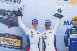 GTLM winners: #24 BMW Team RLL BMW Z4 GTE: John Edwards, Lucas Luhr
