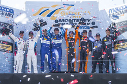 Los ganadores, GTLM, #24 BMW Team RLL BMW Z4 GTE: John Edwards, Lucas Luhr, P, #90 VisitFlorida.com