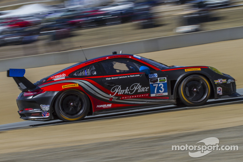#73 Park Place Motorsports Porsche 911 GT America : Patrick Lindsey, Spencer Pumpelly