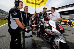 Johann Zarco, Ajo Motorsport sur la grille