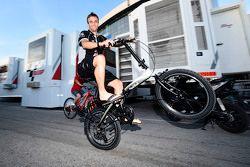 Johann Zarco, Ajo Motorsport dans le paddock