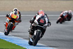 Johann Zarco, Ajo Motorsport, e Simone Corsi, Forward Racing