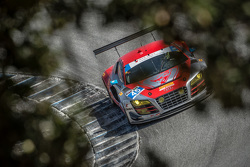 #45 Flying Lizard Motorsports Audi R8 LMS: Guy Cosmo, Patrick Lindsay