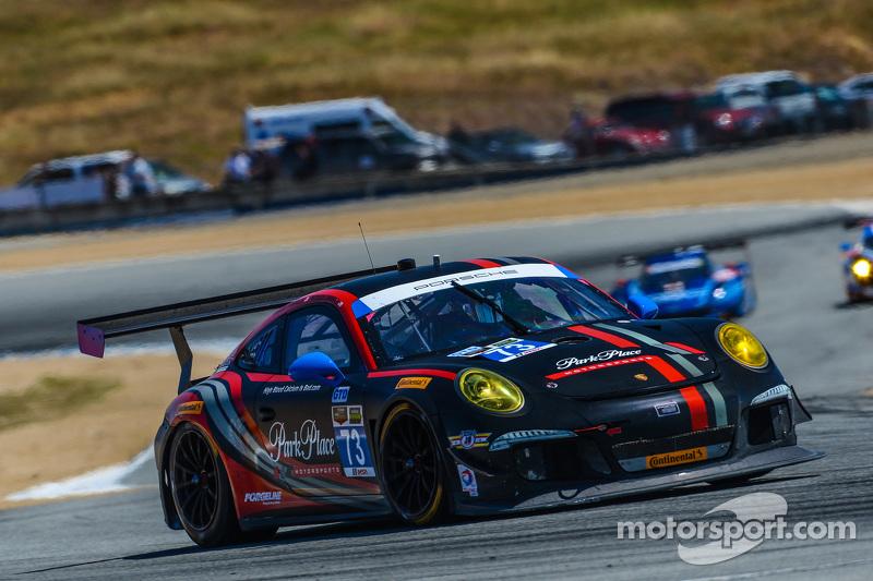 #73 Park Place Motorsports,保时捷911,美洲GT: Patrick Lindsey, Spencer Pumpelly