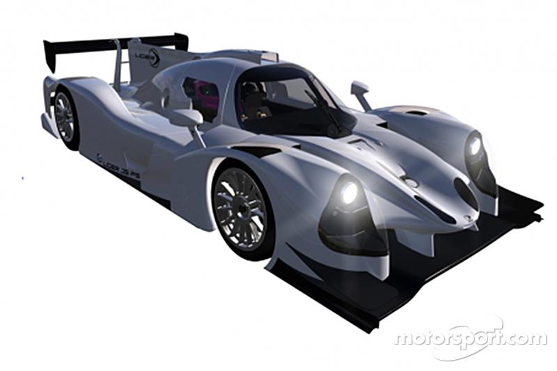 سيارة ليجييه إل أم بي3 الجديد لفريق غراف ريسينغ