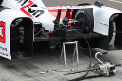 Helio Castroneves, Team Penske, Chevrolet, Detail