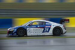 #24 Saintéloc Racing Audi R8 LMS Ultra : Romain Monti, Valentin Simonet, Pierre Sancinena