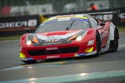 #20 Team AKKA ASP Ferrari 458 Italia : Jean-Luc Beaubelique, Philippe Giauque, Morgan Moullin-Traffort