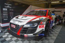#5 Sébastien Loeb Racing Audi R8 LMS Ultra : Christophe Hamon, Christian Bottemanne, Lonni Martins