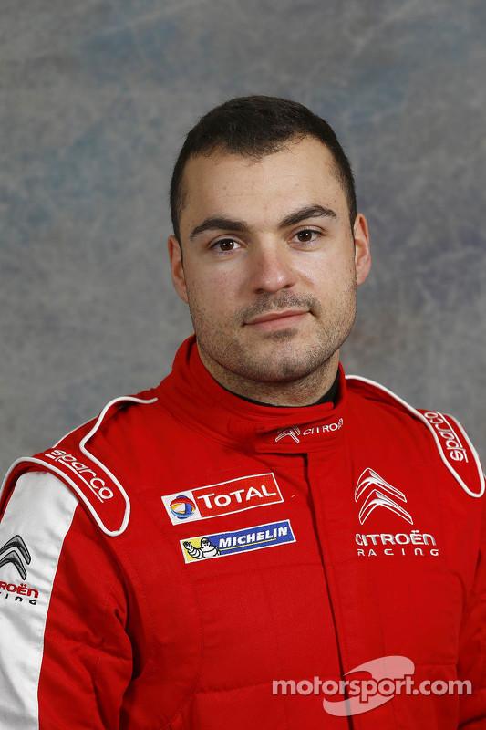 Gilbert Quentin, Citroën Racing