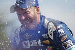 Celebración de Dale Earnhardt Jr., Hendrick Motorsports