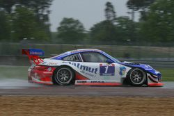 #1 IMSA Performance Matmut Porsche 911 GT3R : Olivier Pernaut, Sebastien Dumez, Raymond Narac
