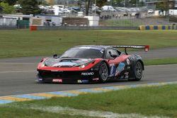 #8 Team Duqueine Ferrari 458 Italia : Roland Berville, Gilles Duqueine, Anthony Beltoise