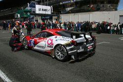 #12 Sport Garage Ferrari 458 Italia : Thierry Soave, Tony Samon, Enzo Guibbert