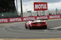 #16 Team AKKA ASP Ferrari 458 Italia : Eric Debard, Fabien Barthez, Olivier Panis