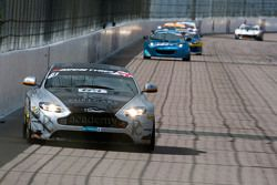 #61 Academy Racing, Aston Martin Vantage GT4: Willie Moore, Dennis Strandberg