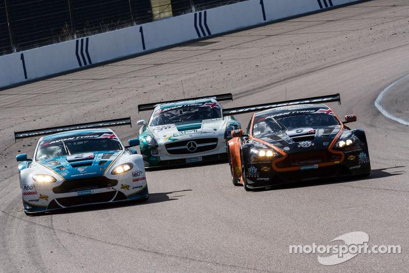 #2 Oman Racing Team, Aston Martin Vantage GT3: Ahman Al Harthy, Daniel Lloyd