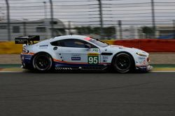 #95 Aston Martin Racing Aston Martin Vantage V8 : Christoffer Nygaard, Marco Sørensen, Jonny Adam