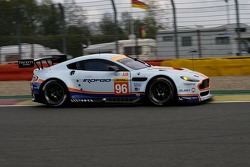 #96 Aston Martin Racing Aston Martin Vantage V8: Fransasco Castellacci, Roald Goethe, Stuart Hall
