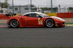 #55 AF Corse Ferrari F458 Italia: Duncan Cameron, Matt Griffin, Alexander Mortimer