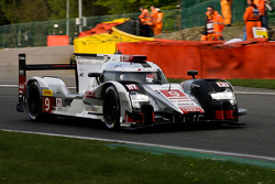 #9 Audi Sport Team Joest Audi R18 e-tron quattro Hybrid: Filipe Albuquerque, Marco Bonanomi, René Ra