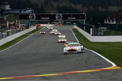 #97 Aston Martin Racing Aston Martin Vantage V8 : Darren Turner, Stefan Mücke, Rob Bell